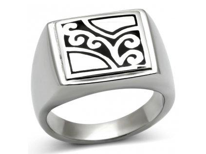 PR6510OC ocelovy prsten pansky