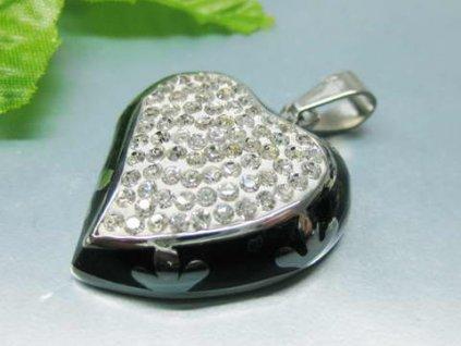 PV3035 privesok ocel zirkony srdce