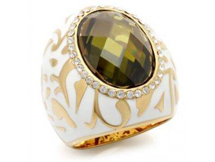 PR4137ZG masivny prsten so zirkonom