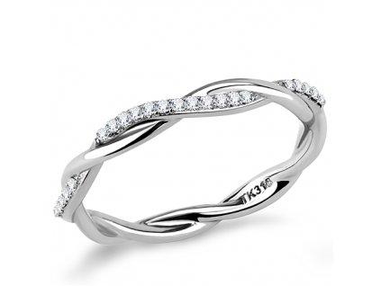 PR8142ZOC Jemný prsteň z chirurgickej ocele
