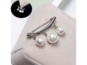 BR1097PR brosna s perlami