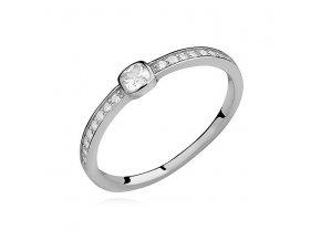 PR7160ZSS Strieborný prsteň