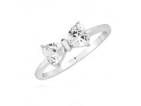 PR7156ZSS Strieborný prsteň