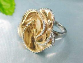 PR1158OC - Ruža - prsteň z chirurgickej ocele