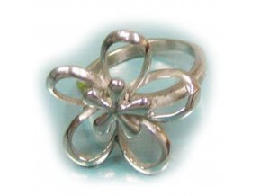 PR1245OC kvietok prsten z chirurgickej ocele