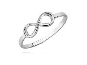 PR7168SS Infinity strieborný prsteň