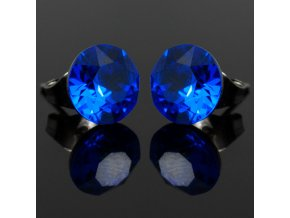 NA3913SWOC swarovski nausnice modre majestic blue