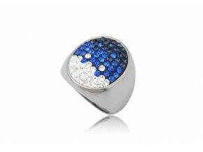 PR8168ZOC modry damsky ocelovy prsten
