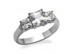 PR1339ZOC prsten z chirurgickej ocele zasnubny