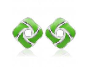 NA3428OC ocelove nausnice zelene