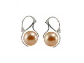 NA0347PSS swarovski perly strieborne nausnice