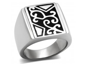 PR6137OC - Pánsky oceľový prsteň