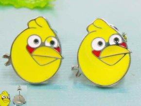NA3458OC vtaciky Angry birds ocelove nausnice