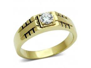 PR6162SWGOC - Pánsky prsteň so Swarovski krištálom