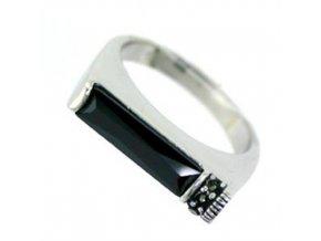 PR4607ZSS - Strieborný prsteň so zirkónom