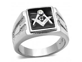 PR6293SWOC - Pánsky prsteň so Swarovski krištálom