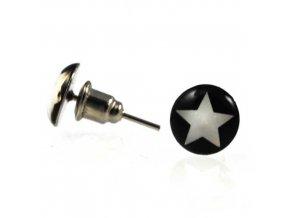 NA3513OC ocelove nausnice hviezdicky