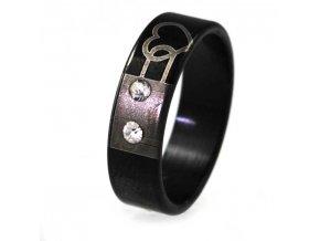 PR6318ZOC - Srdiečko - prsteň z chirurgickej ocele