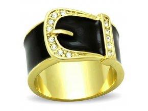 PR6373ZGOC - Opasok - prsteň z chirurgickej ocele so zirkónmi