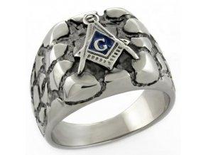 PR6408OC - Pánsky slobodomurársky prsteň z chirurgickej ocele