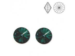 NA3613SWOC swarovski nausnice smaragdove