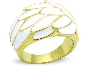 PR4083EG - Pozlátený prsteň s epoxy