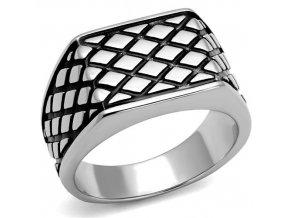 PR8112OC Pánsky oceľový prsteň
