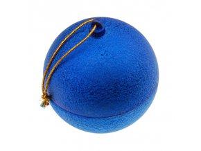 KR004 vianocna gula krabicka na sperky modra
