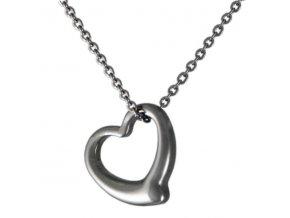 NH3291OC srdce srdiecko ocelovy nahrdelnik damsky