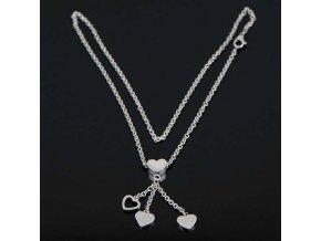 NH3294OC srdiecka ocelovy nahrdelnik damsky · NH3294OC Srdiečka náhrdelník  z chirurgickej ocele 8ecb39f7b92