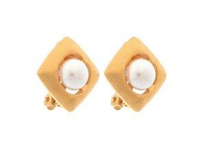 LNA0018 damske nausnice misaki klipsne perly