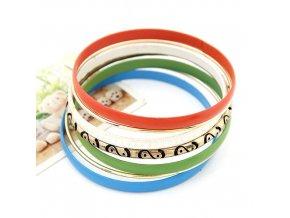 BNR105 7 farebnych kruhov naramok