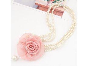 BNH220 elegantny perlickovy nahrdelnik