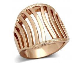 PR8128GOC Dámsky oceľový prsteň