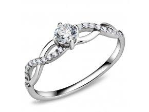 PR8130ZOC Dámsky jemný oceľový prsteň