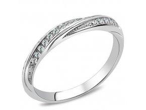 PR8131ZOC Dámsky oceľový prsteň