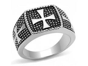 PR8137OC Pánsky oceľový prsteň