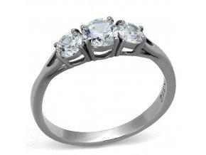 PR8146ZOC Dámsky oceľový prsteň