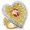 PR4350ZSSGR - Luxusný strieborný prsteň so zirkónmi