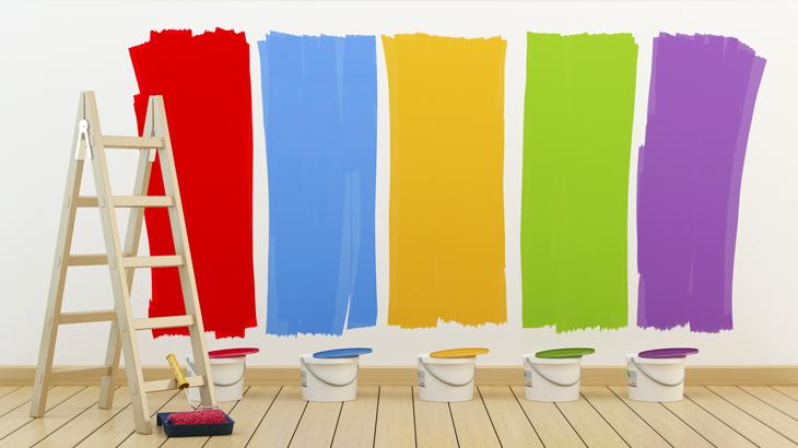 Jak sladit barvy v interiéru