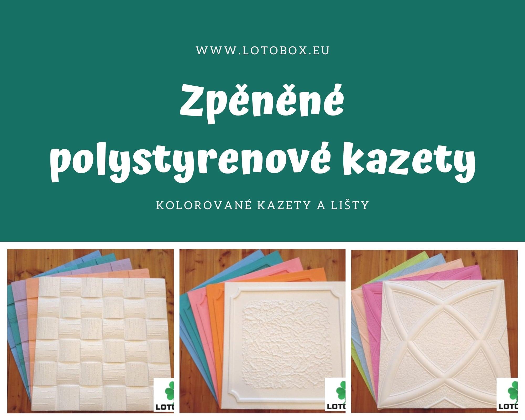 Rozdílné druhy polystyrenových kazet v naší nabídce