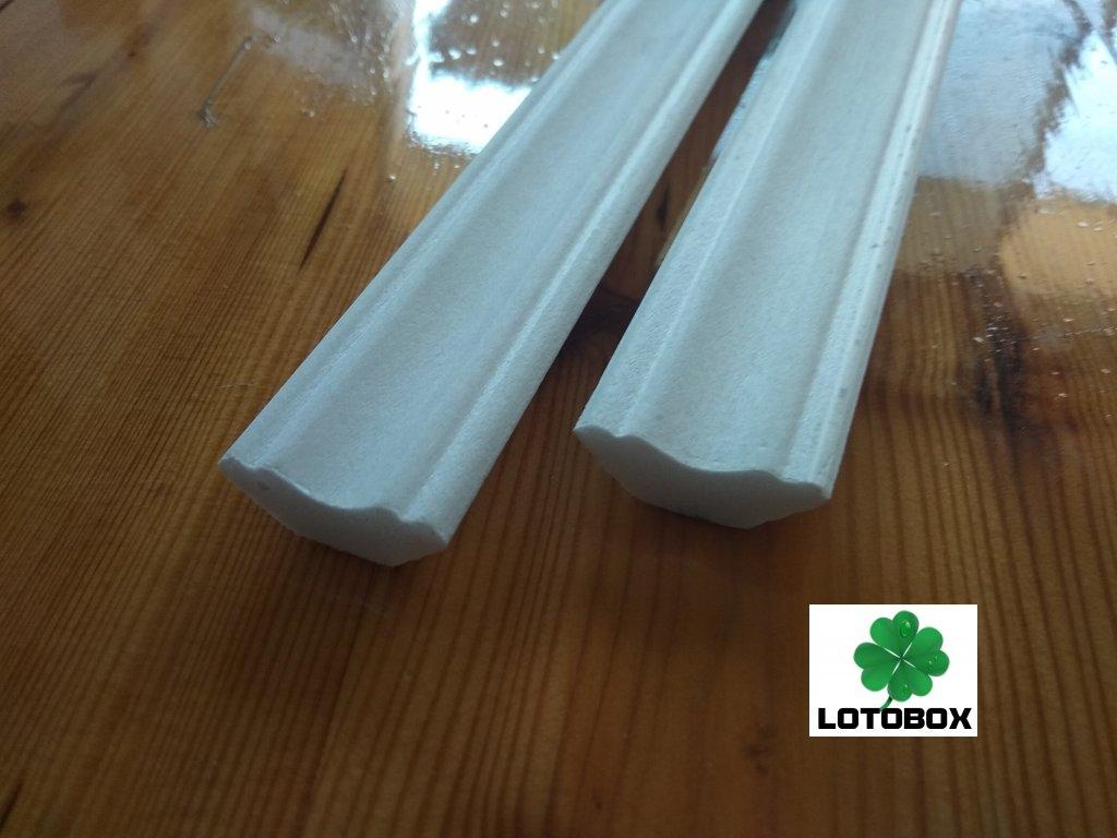 Stropní lišty E23 1metr 1kus  stropní polystyrenové lišty