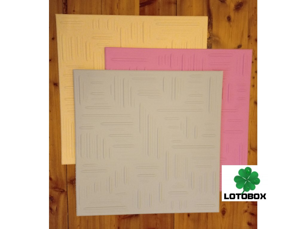 Polystyrenová stropní kazeta dekor NORMA 50x50cm 1kus