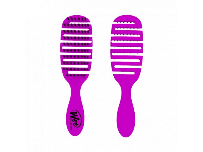 WETBRUSH FLEX DRY SHINE ENHANCER Kartáč PURPLE 1 KS