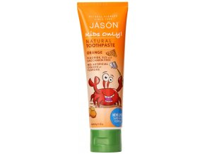 jason kids only natural toothpaste orange