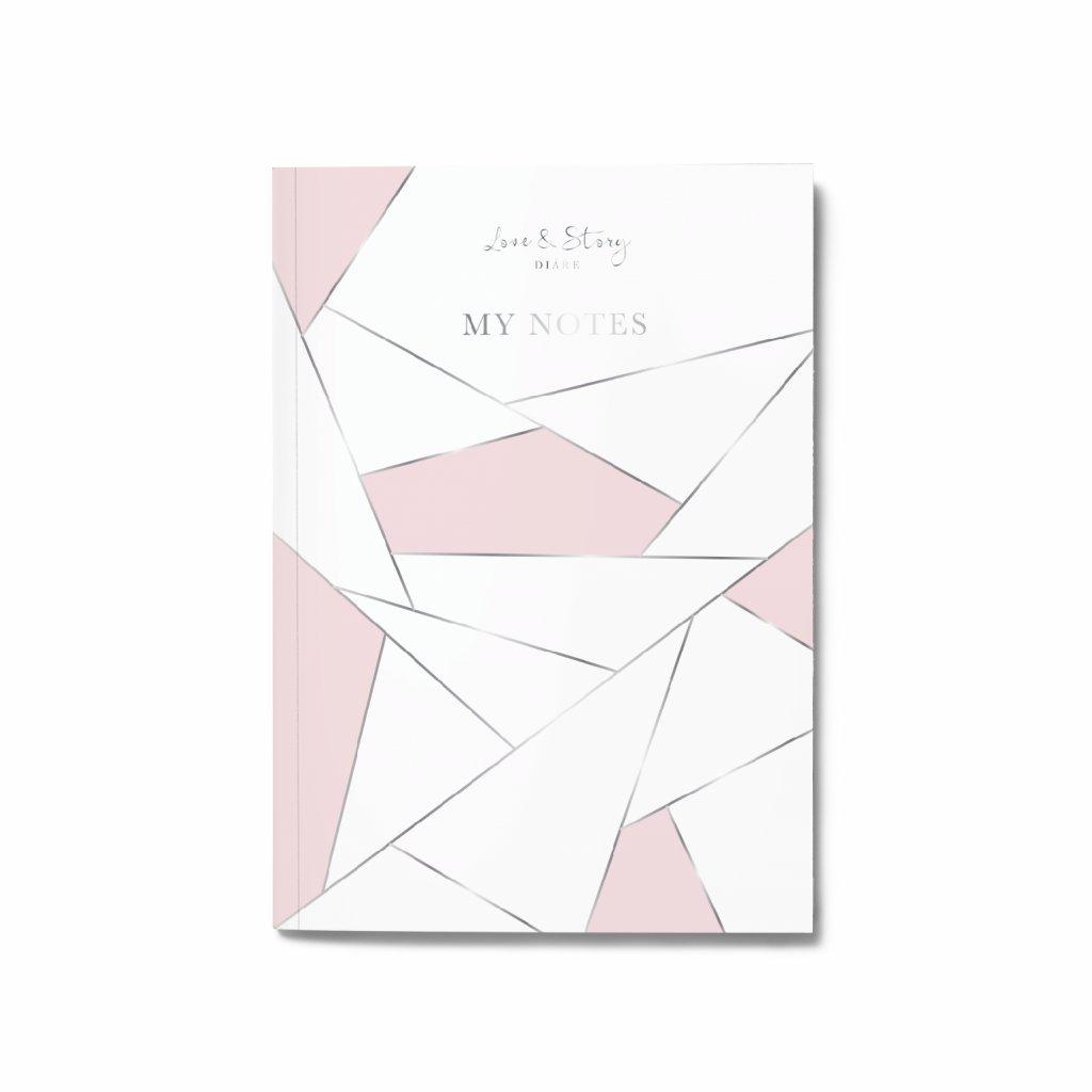 Zápisník Pink