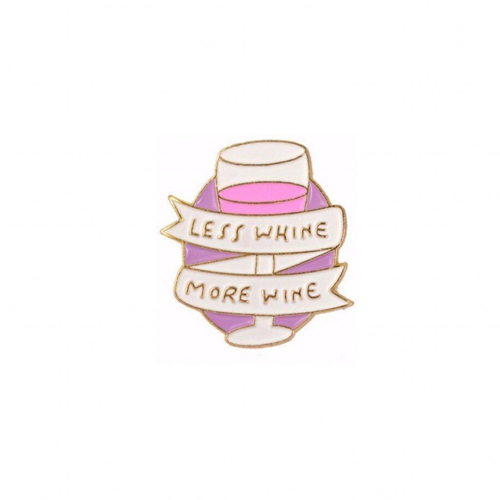 Připínáček Wine