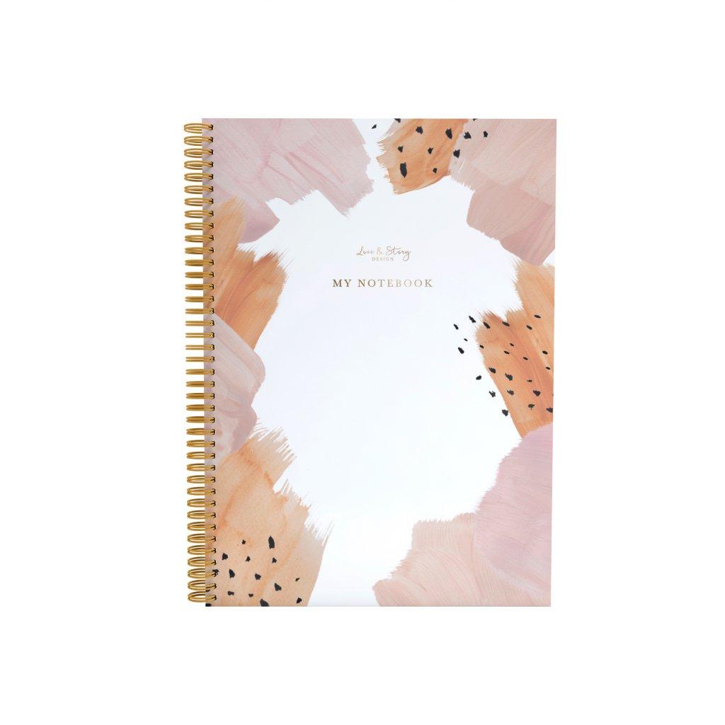Zápisník Blush