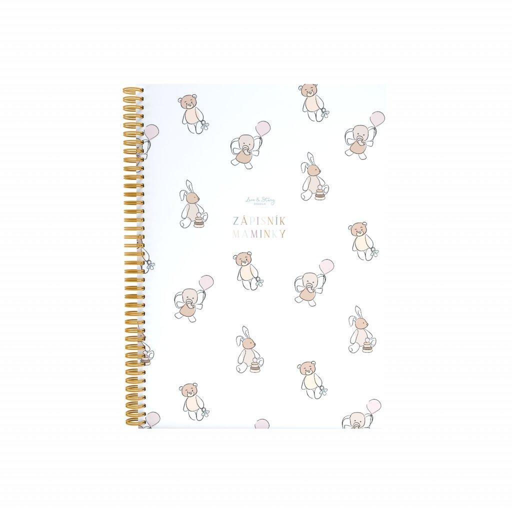 Zápisník pro maminky Bebe