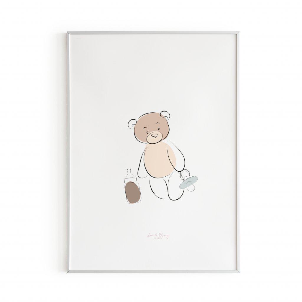 Plakát Teddy